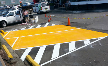 Parking Bay Linemarking MacDonalds Thornleigh